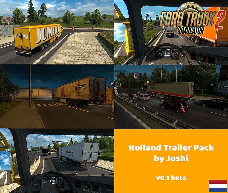 Holland Trailer Pack by Joshi v1.0 for Ets2