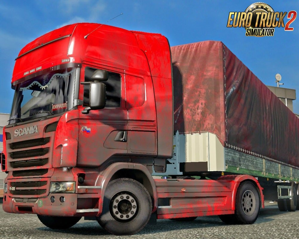 Dirty and Snow Skins for Ets2