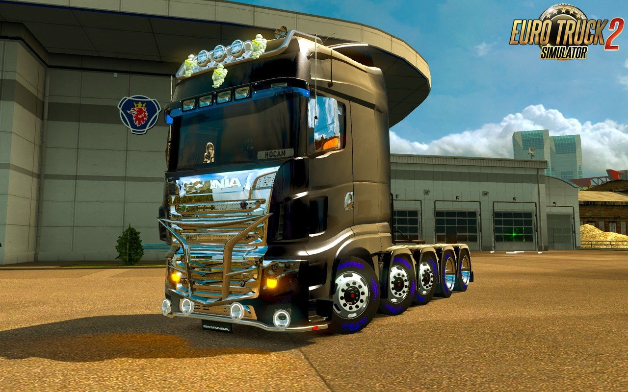 Scania R700 2016 for Ets2