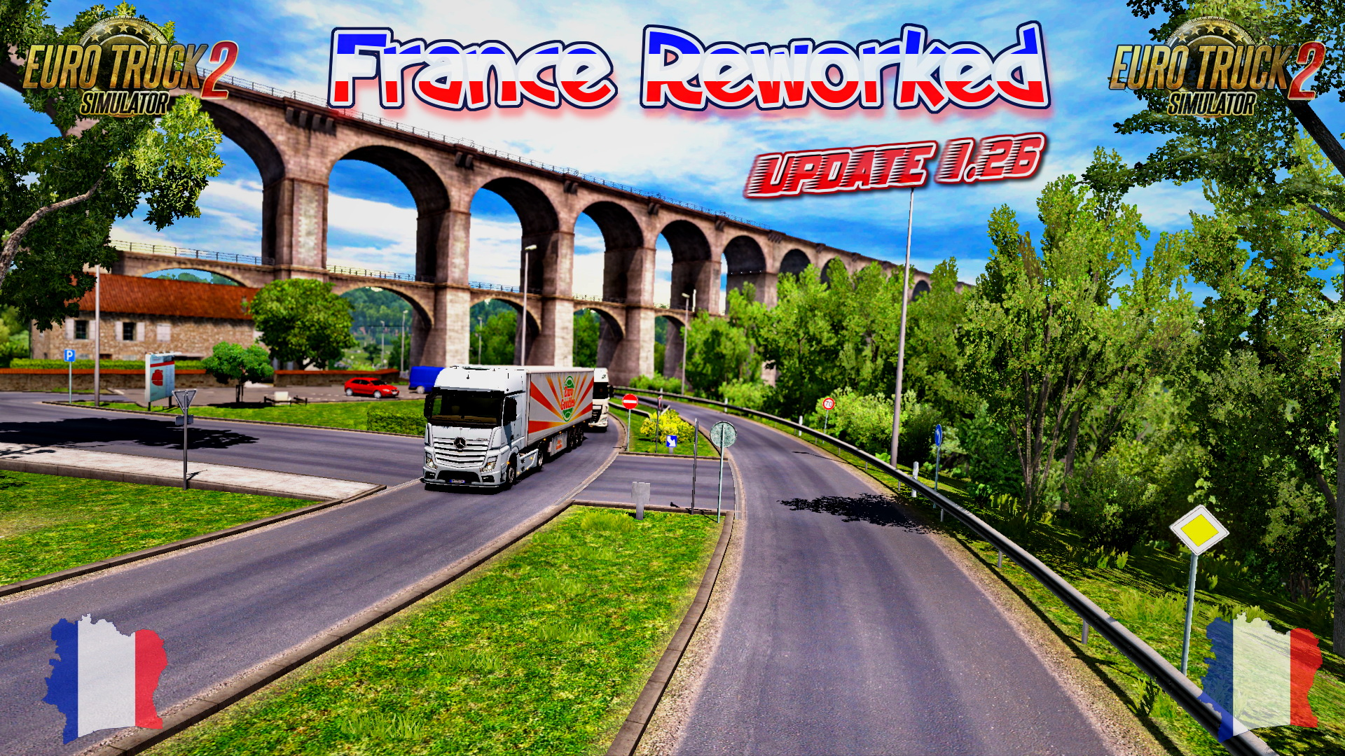 France Reworked - Update 1.26 (Euro Truck Simulator 2)