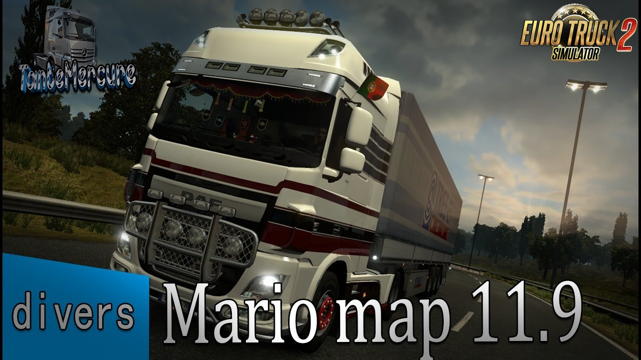 Mario Map v11.9 1.25.x (Latest updated Version)