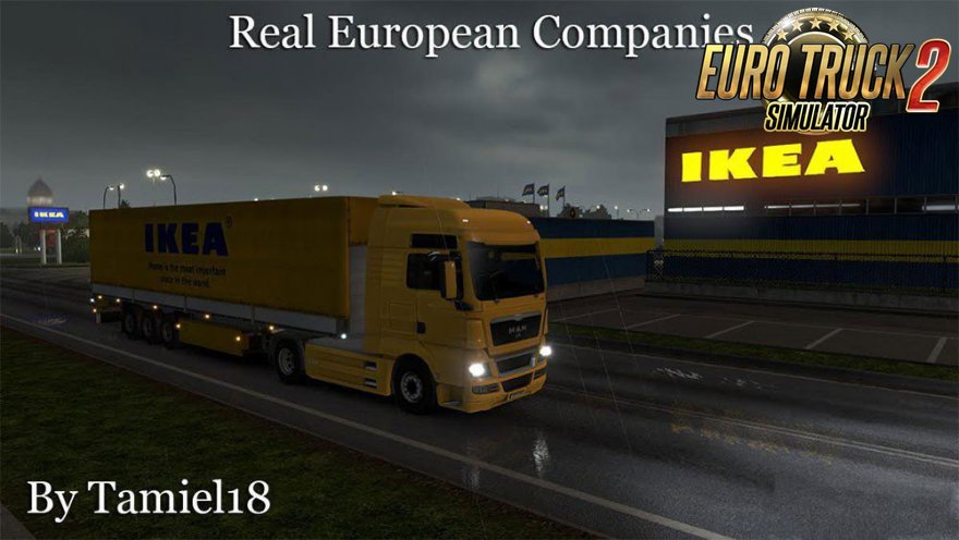 Real European Companies v 2.1 by Tamiel18