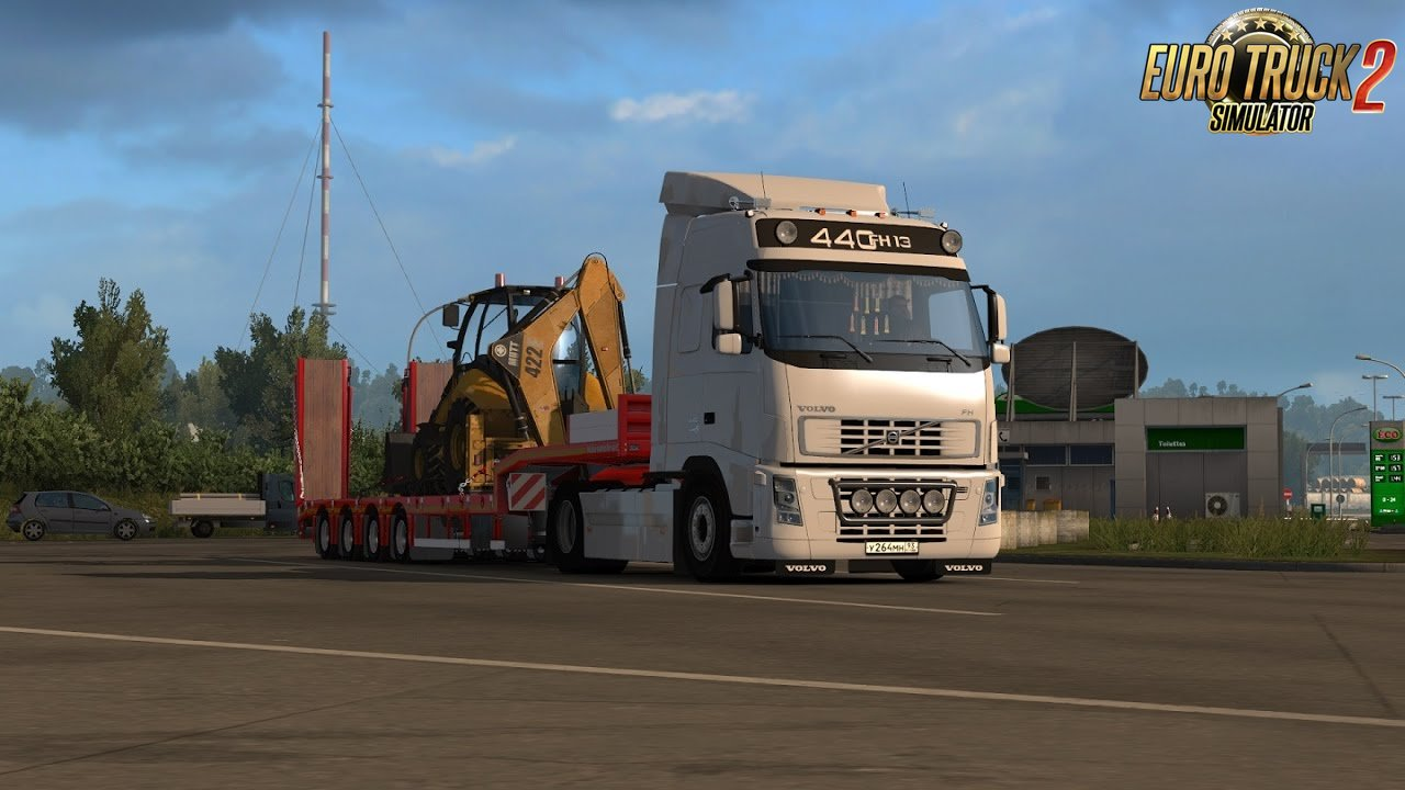 Volvo FH - FH16 Open Pipe sound v.2.0 [1.26.x]
