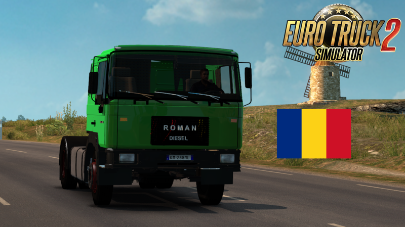 Roman Diesel v1.0 by Traian for Ets2 [1.26.x]