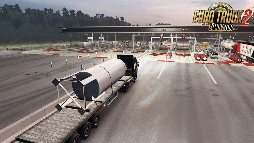 New road HD v3.0 by Over Game for Ets2
