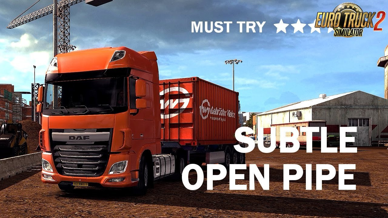 Daf XF 106 OpenPipe Sound v.1.1 for Ets2