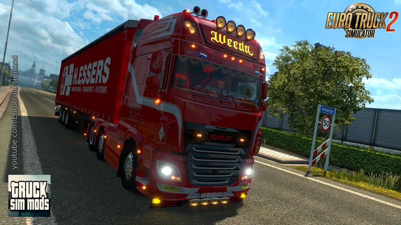 DAF XF106 Weeda + D-TEC Container Pack (1.26.x)