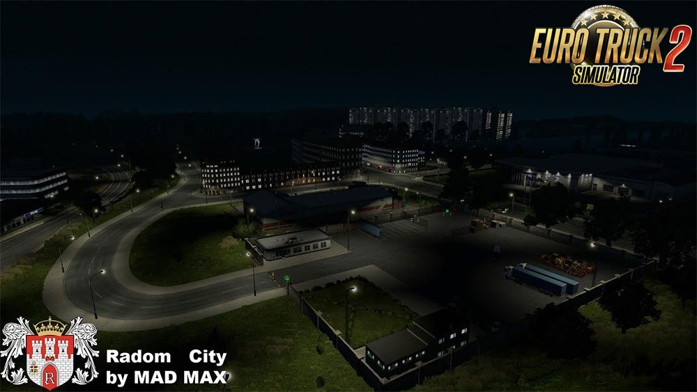 The city of Radom base for Ets2