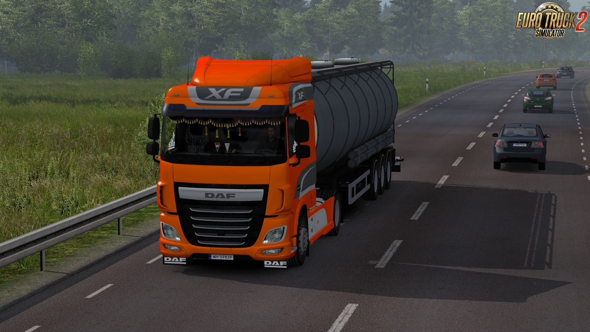 Daf XF Euro 6 Reworked v1.3 for Ets2
