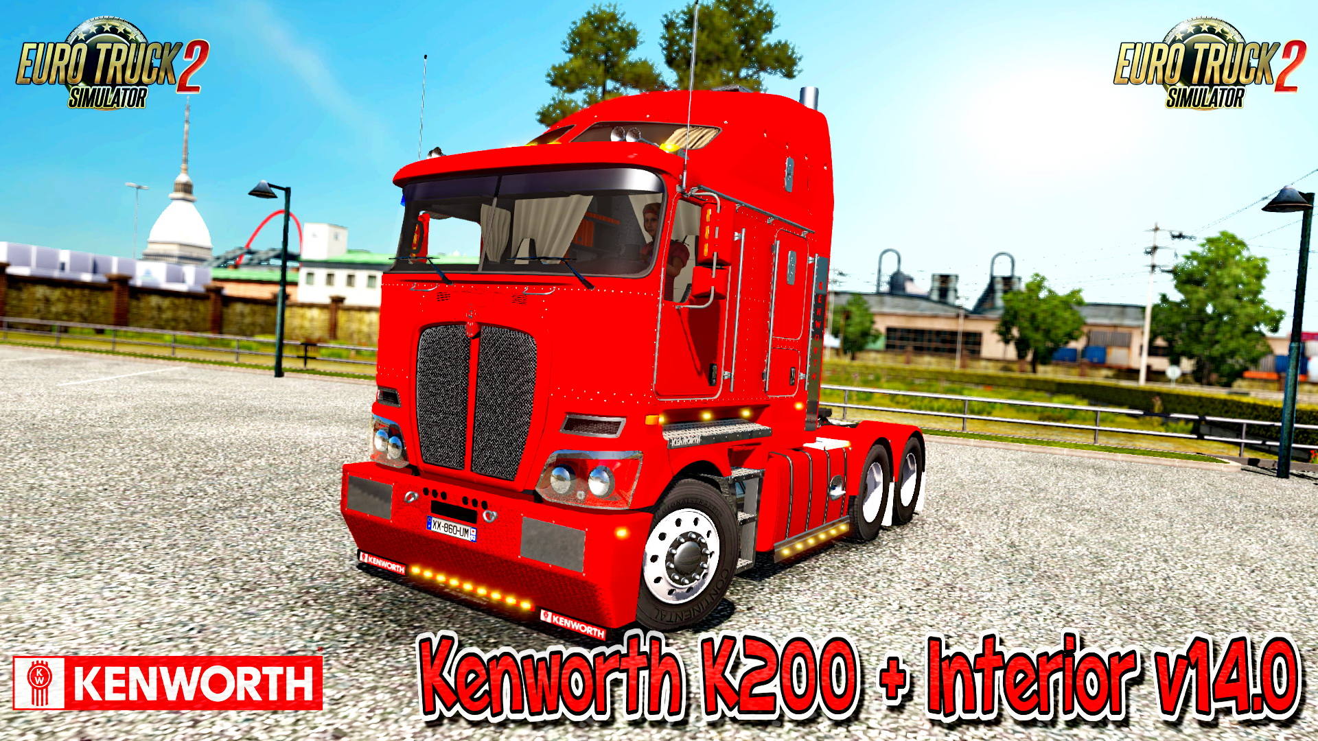 Kenworth K200 + Interior v14.0 (1.26.x)