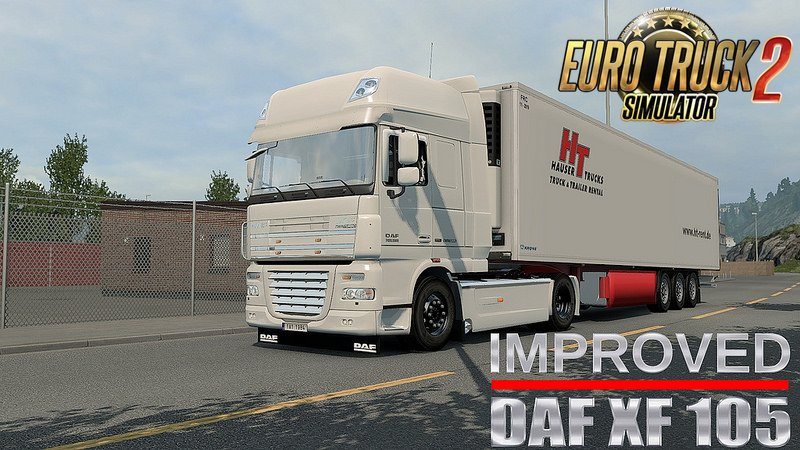 Improved DAF XF 105 by AlexeyP v1.4.1 [1.26.xs]