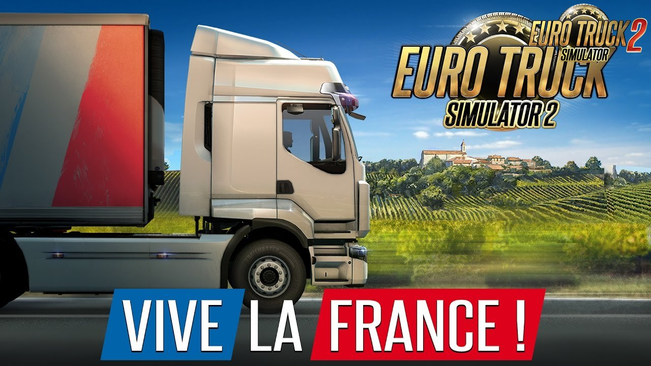 Euro Truck Simulator 2 - Vive la France (Trailer Released)