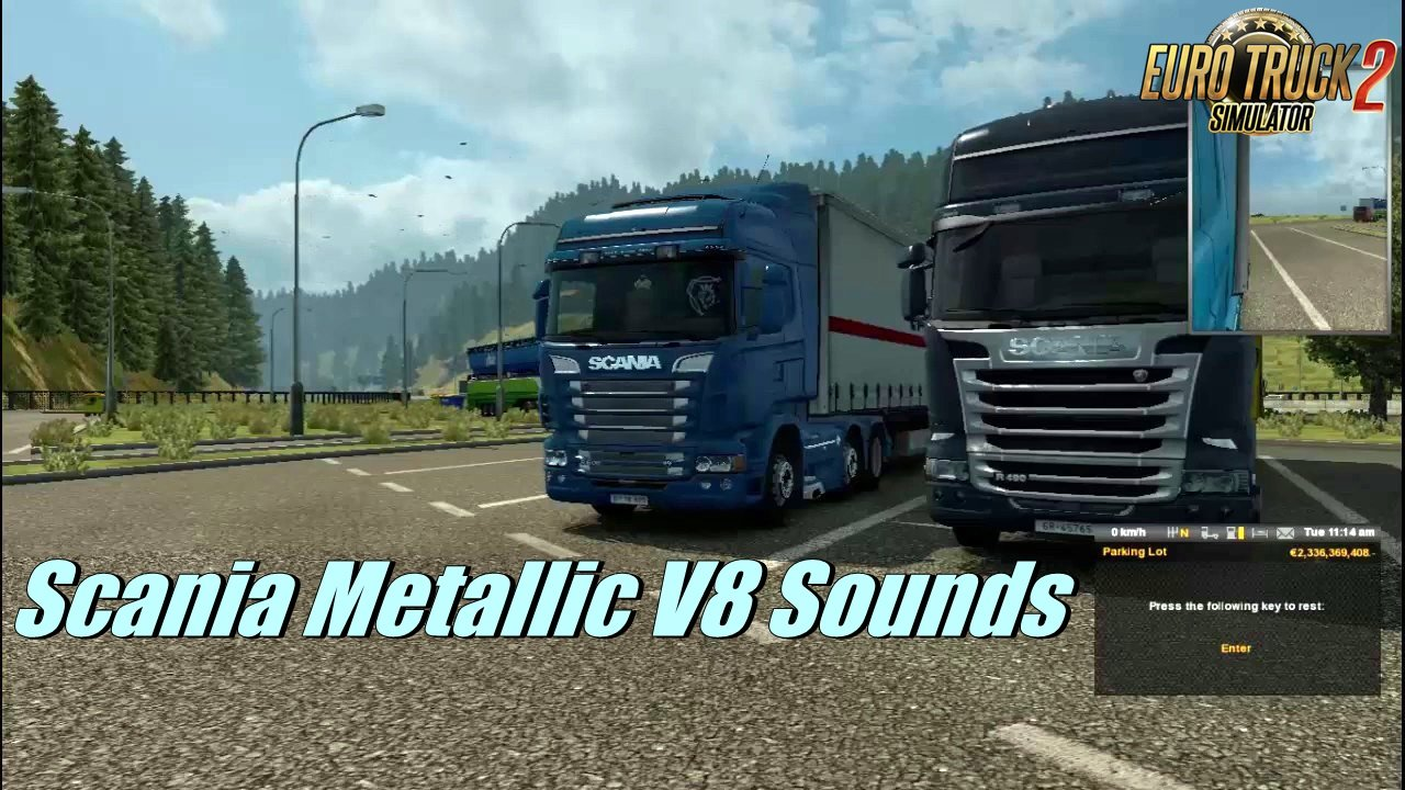 Scania Metallic V8 Sounds by R.J Productions
