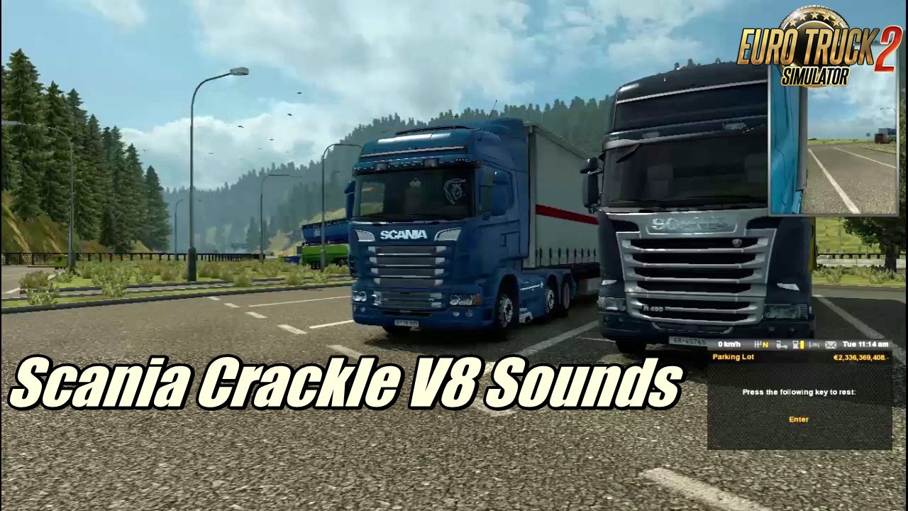 Scania Crackle V8 Sounds by R.J Productions