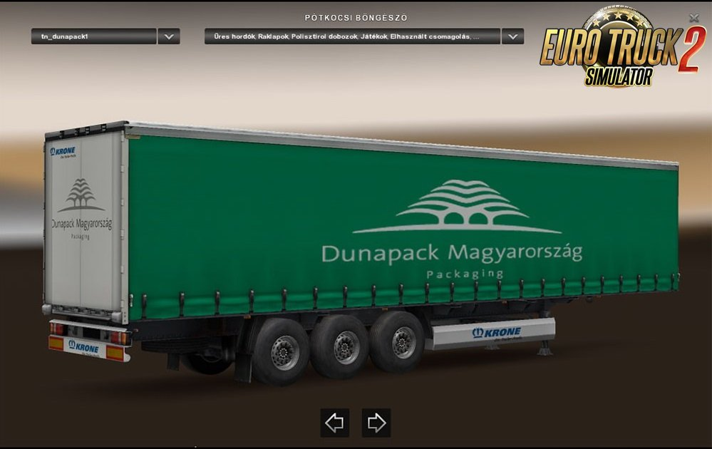 Dunapack trailers by azannya26