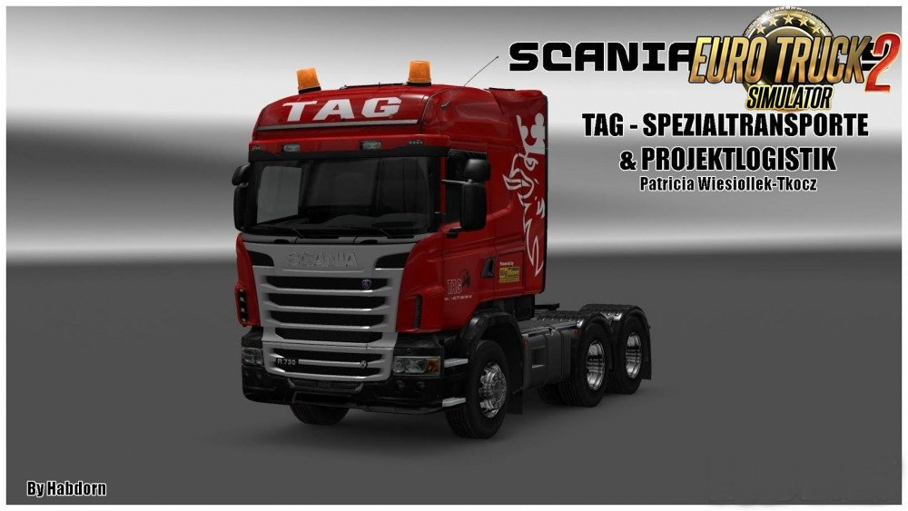 Scania R Accessories by Habdorn
