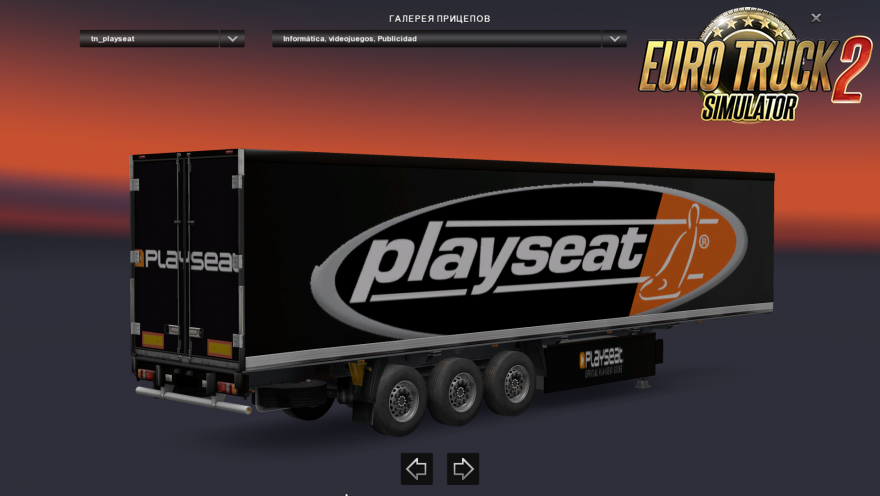 Standalone trailers (3 Skin) for Ets2