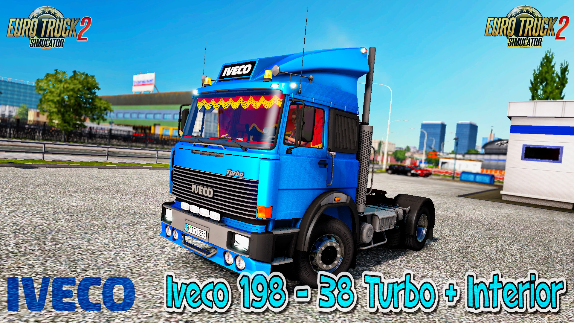 Iveco 198 - 38 Turbo + Interior - Euro Truck Simulator 2
