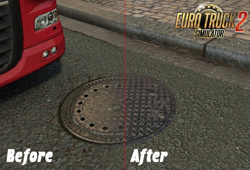 HD Roads v1.0 [1.26.x]