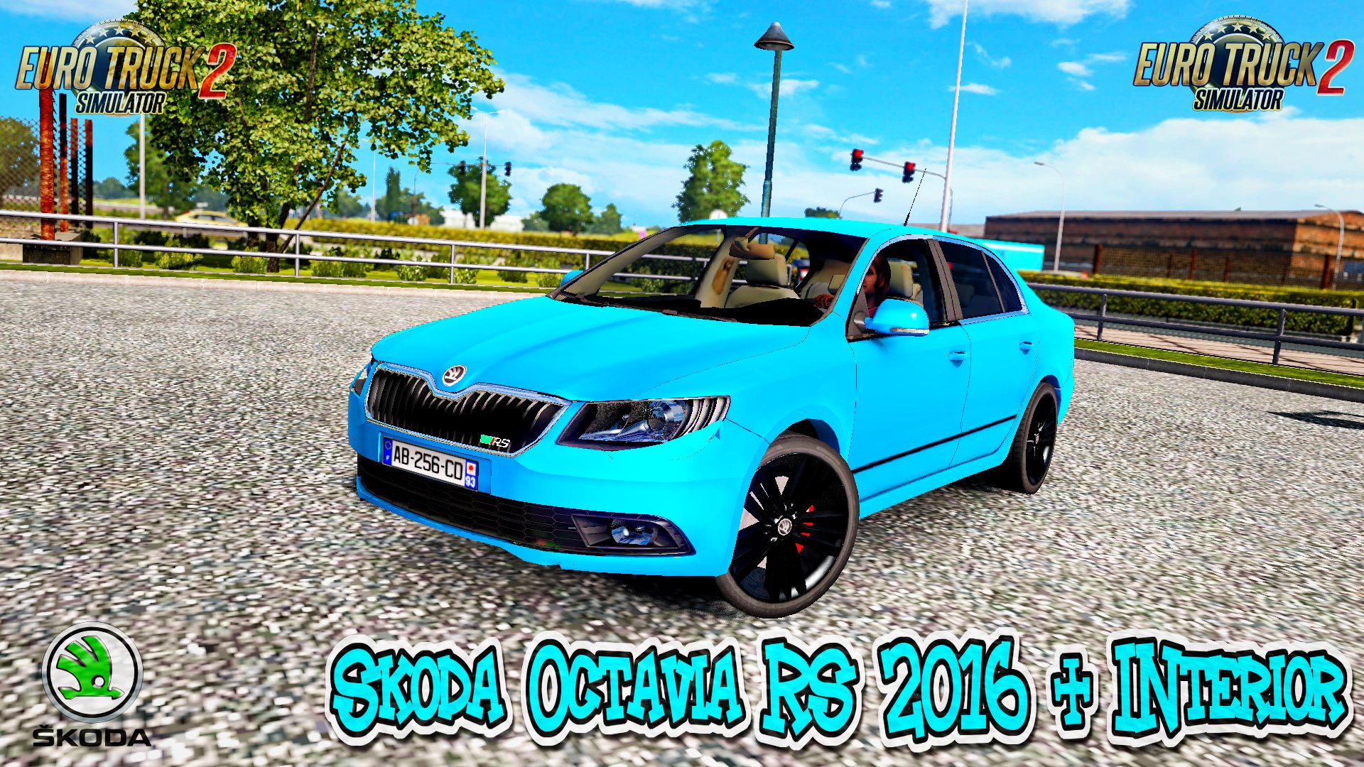 Skoda Octavia RS 2016 + Interior v1.0 (Updated Version) (1.27.x)