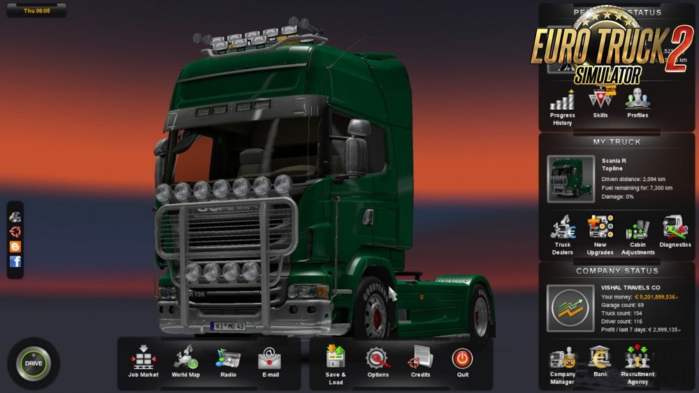 Ultimate Savegame for Ets2