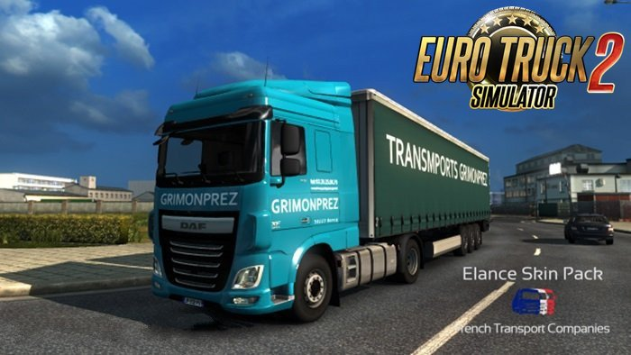 French Transport Companies SkinPack v1.0