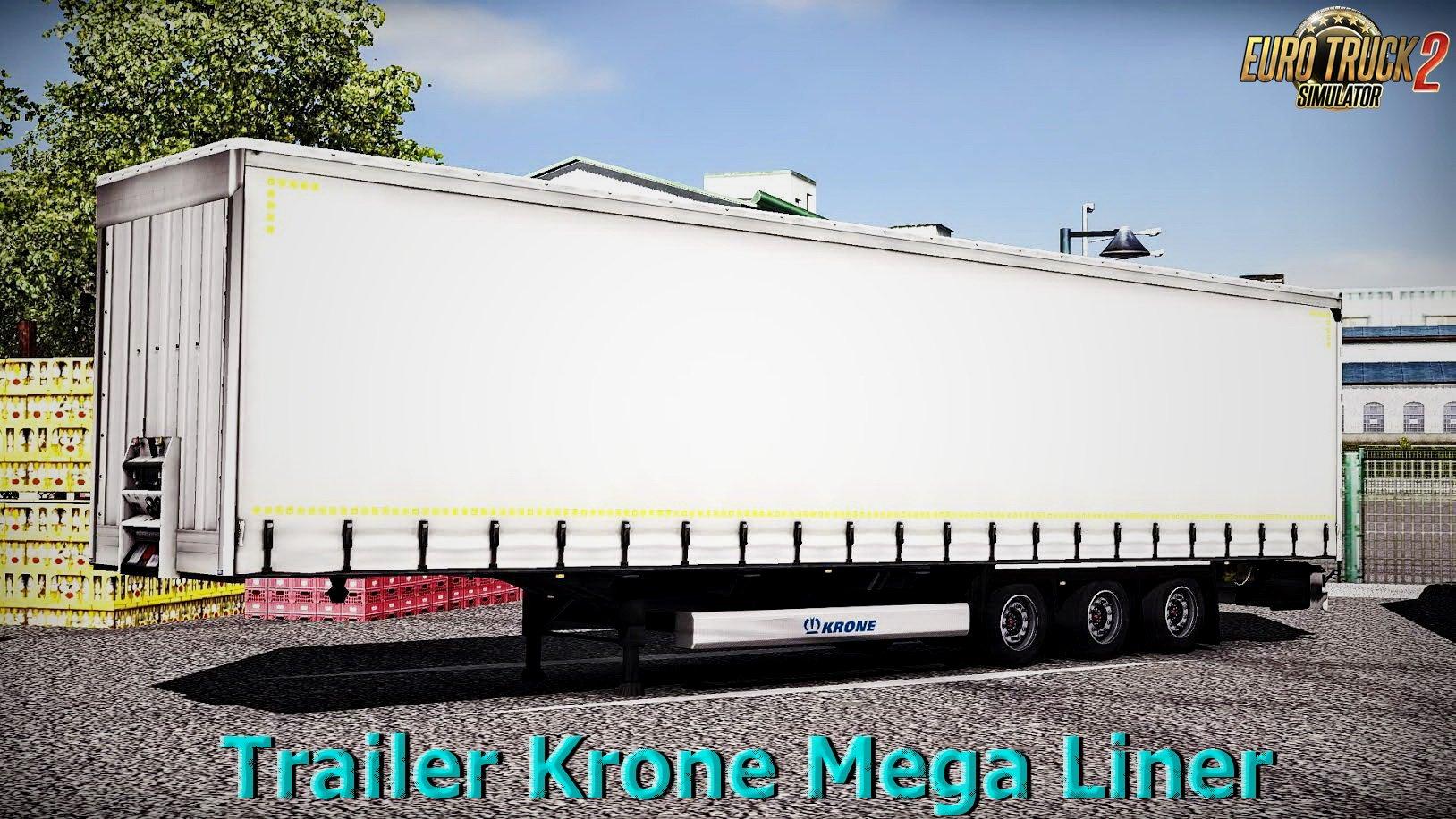 Trailer Krone Mega Liner v1.0 (1.26.x)