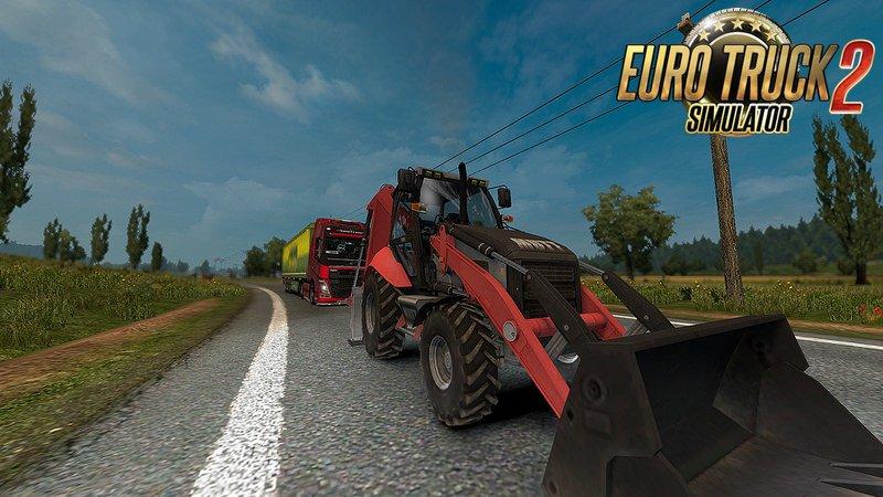 Ai Traffic Excavator mod Mutt 422 1 26 x » ETS2 mods, SCS