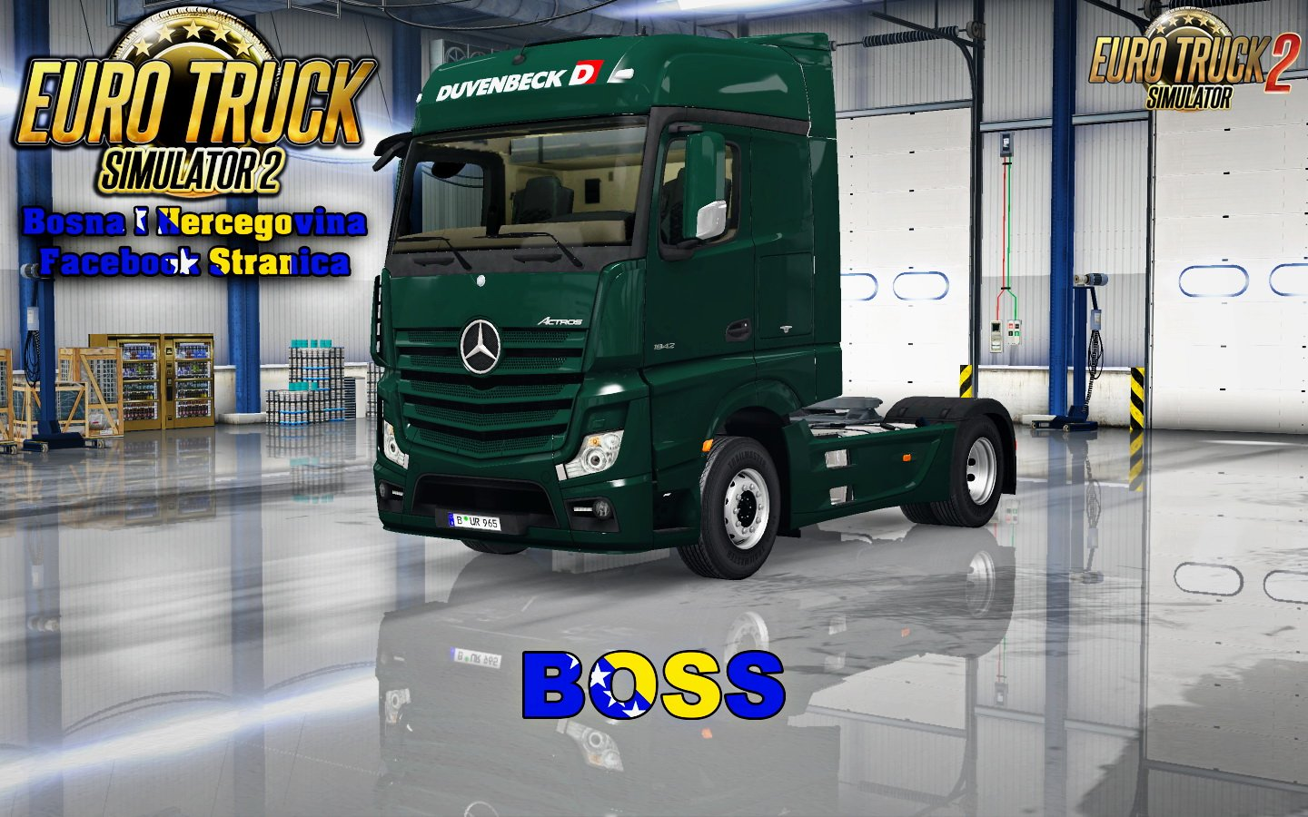 Mercedes MP4 Duvenbeck Skin v1.0 by Boss