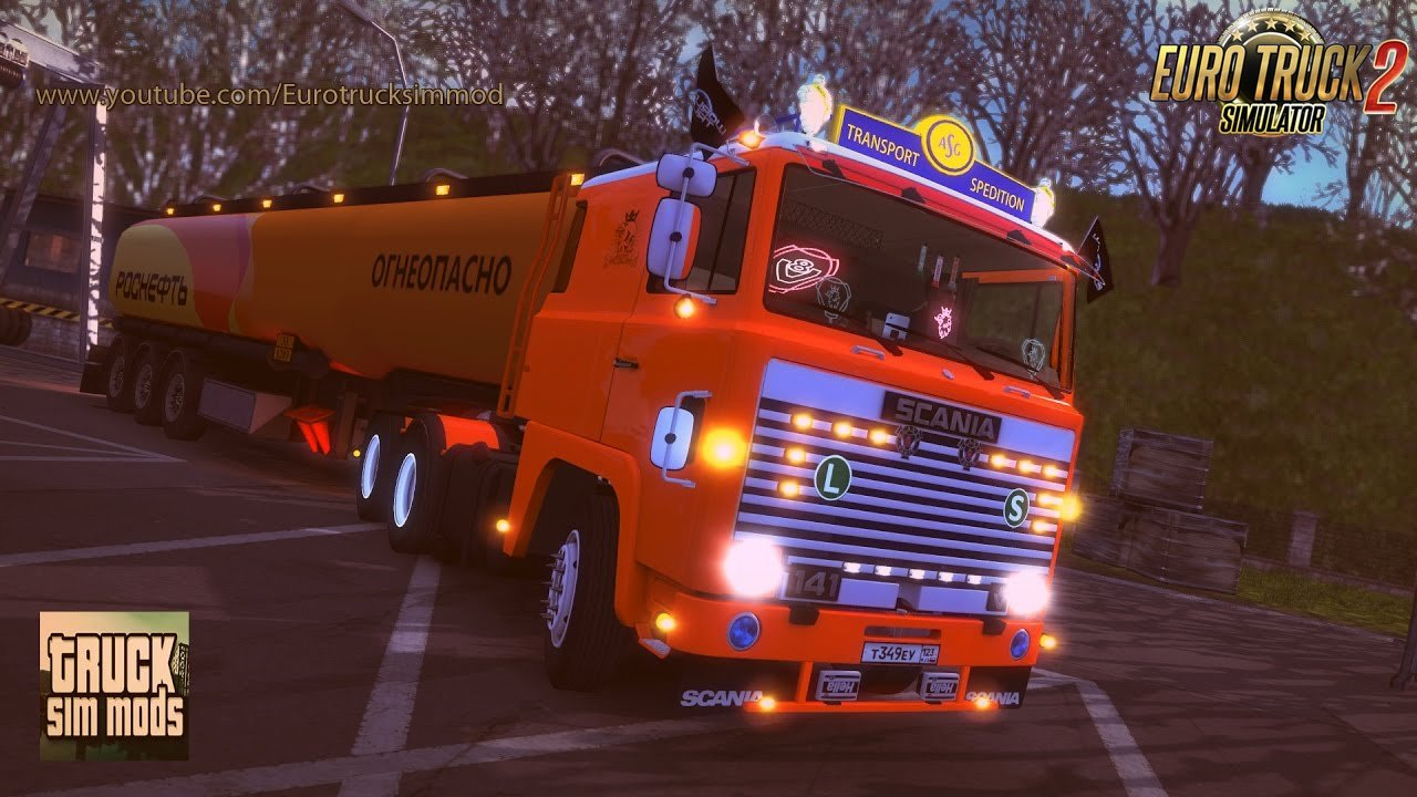 Scania 1 Series - Euro Truck Simulator 2