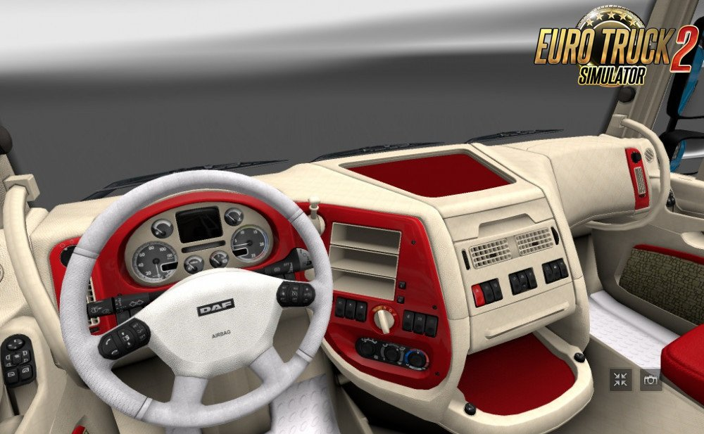 DAF XF Interior for Ets2