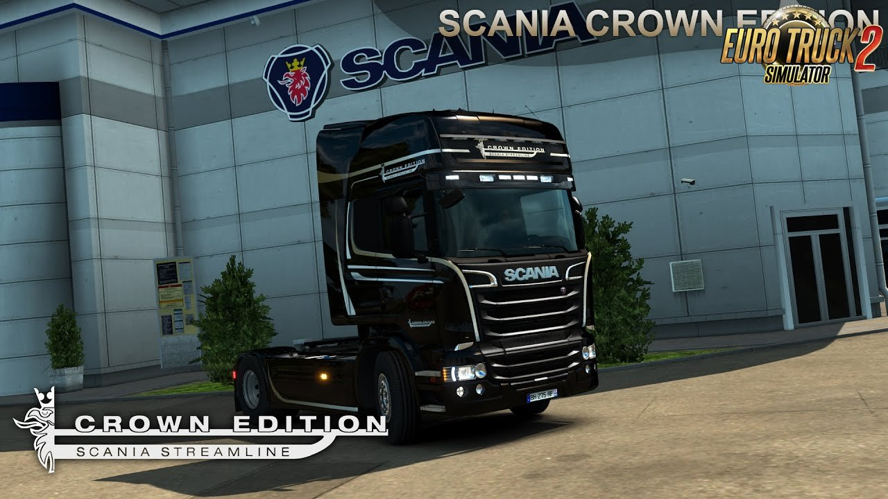 Scania Crown Edition skin for RJL + Colored Display v1.0 (1.26.x)
