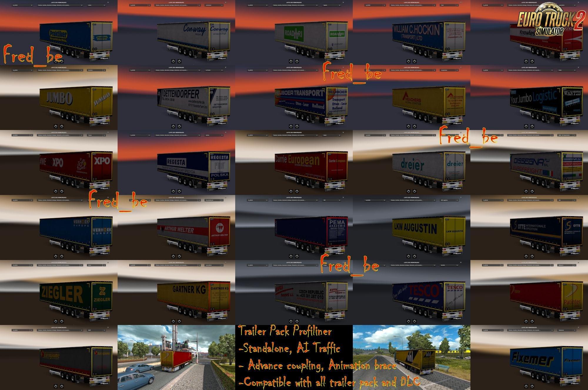 Trailer Pack Profiliner v1.26 [1.26.x]