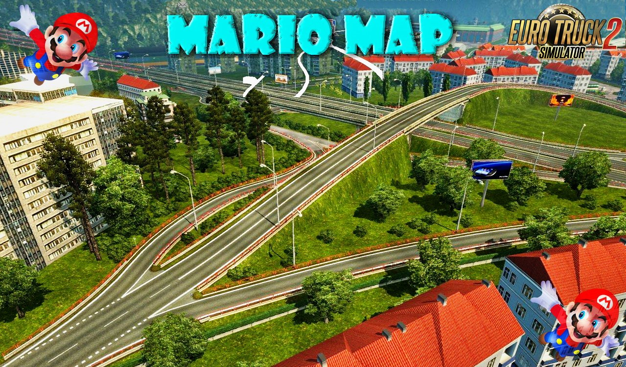 Mario Map v12.3 (Official Version) (1.27.x)