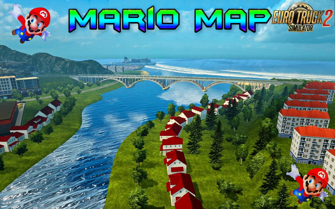 Mario Map v12.7 for Ets2-Update (06.11.2018)