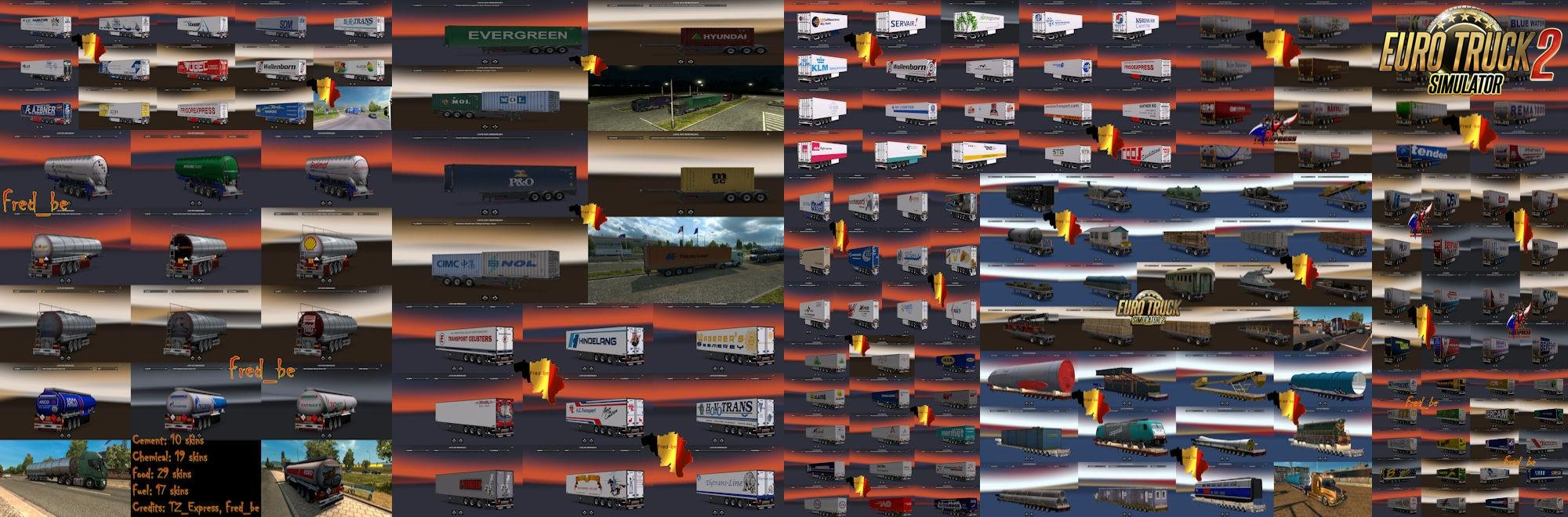 Trailer Pack v10 by Fred_be [1.26.x]