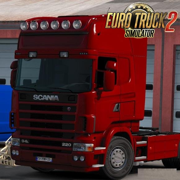 Long Bar Scania R&T (RJL) v2.0 for Ets2