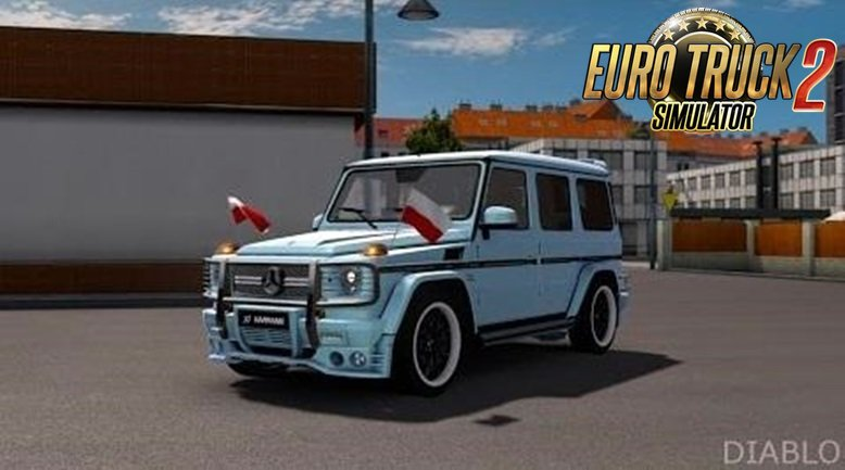 Mercedes Benz G - Class by Elaman edit Diablo[1.26.x]
