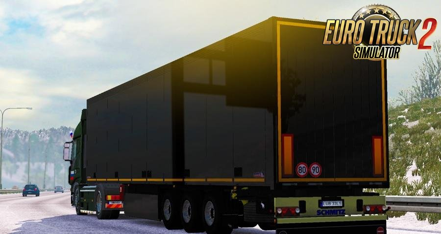 Black Schmitz Trailer for Ets2
