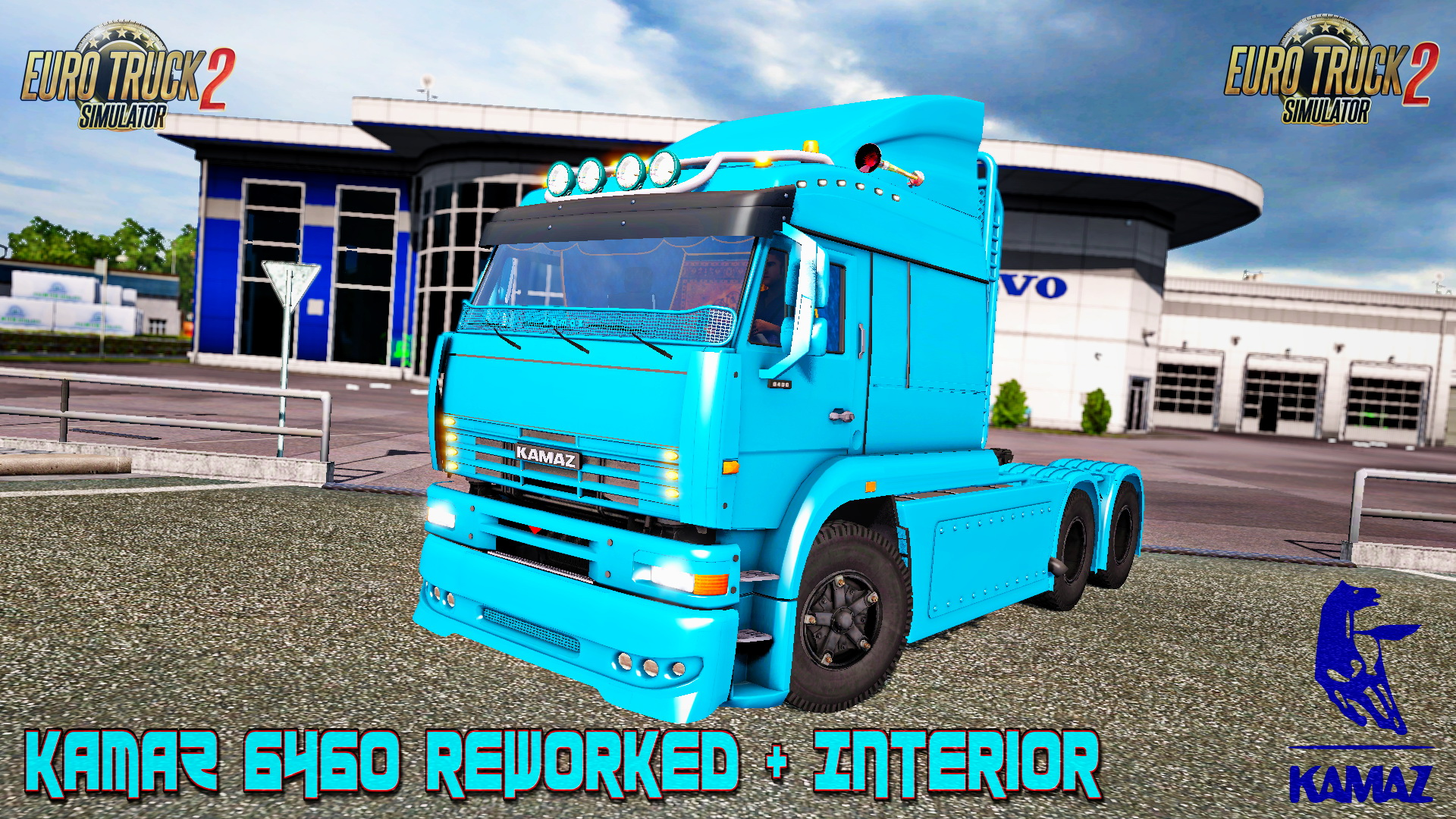 KamaZ 6460 Reworked + Interior v1.0 (1.26.x)