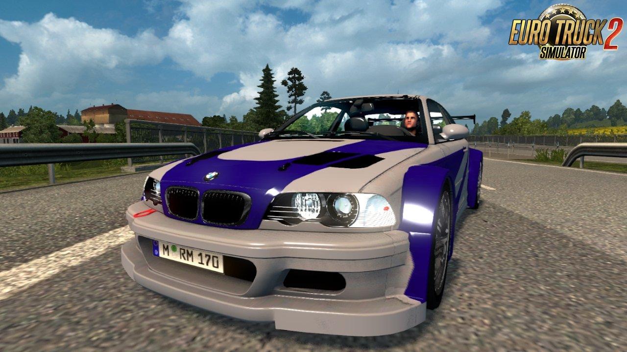 BMW M3 E46 + M3 E46 GTR v1.0 (1.26.x)