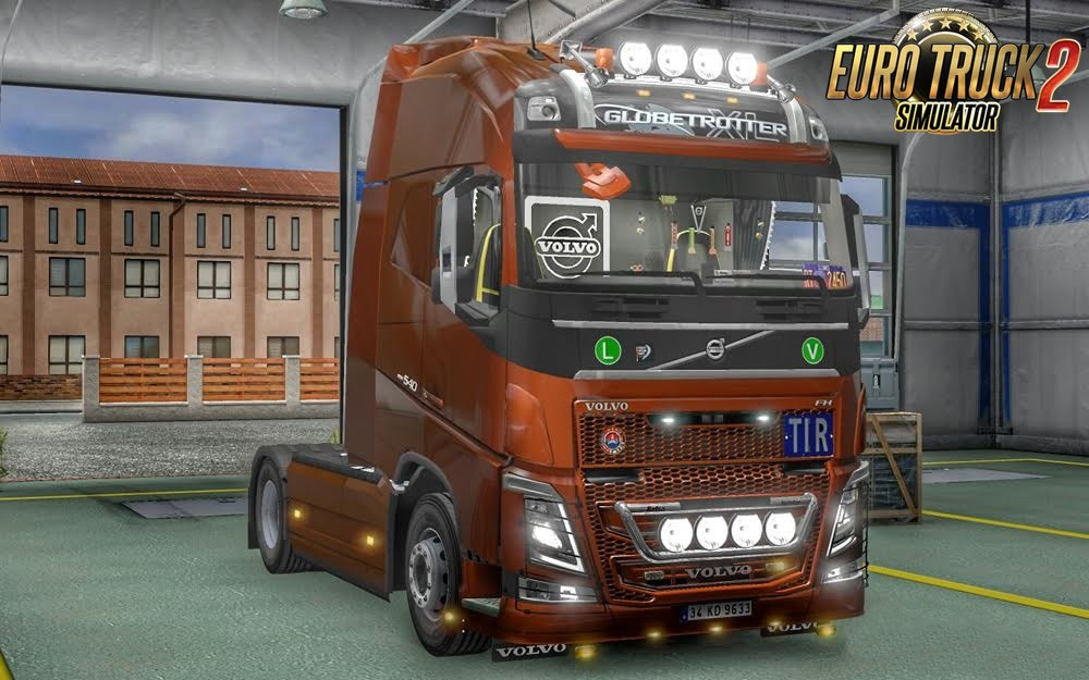New Volvo FH16 Accessories + Interior v 3.1[1.26.x]