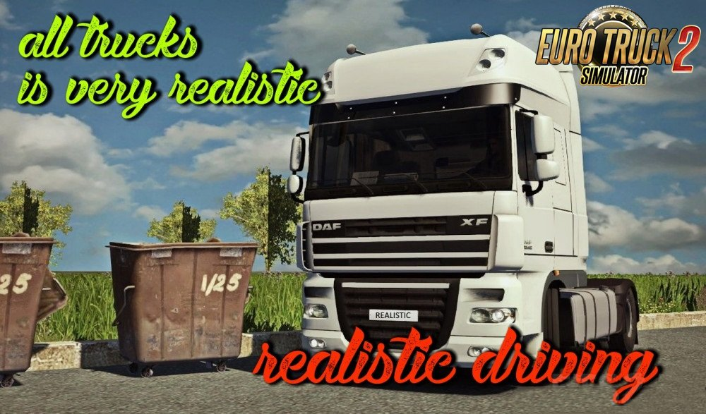 Realistic driving and physics for all trucks in Ets2