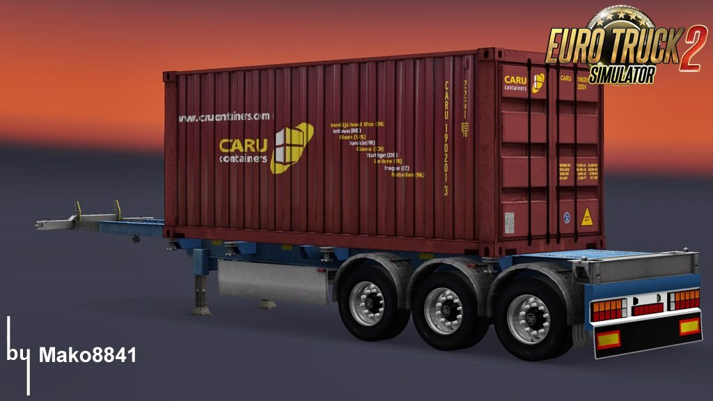 Trailer Container Caru by mako8841