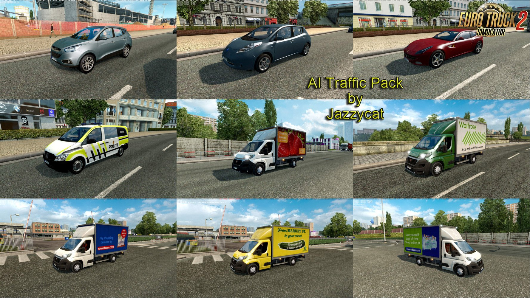 AI Traffic Pack v4.5 by Jazzycat