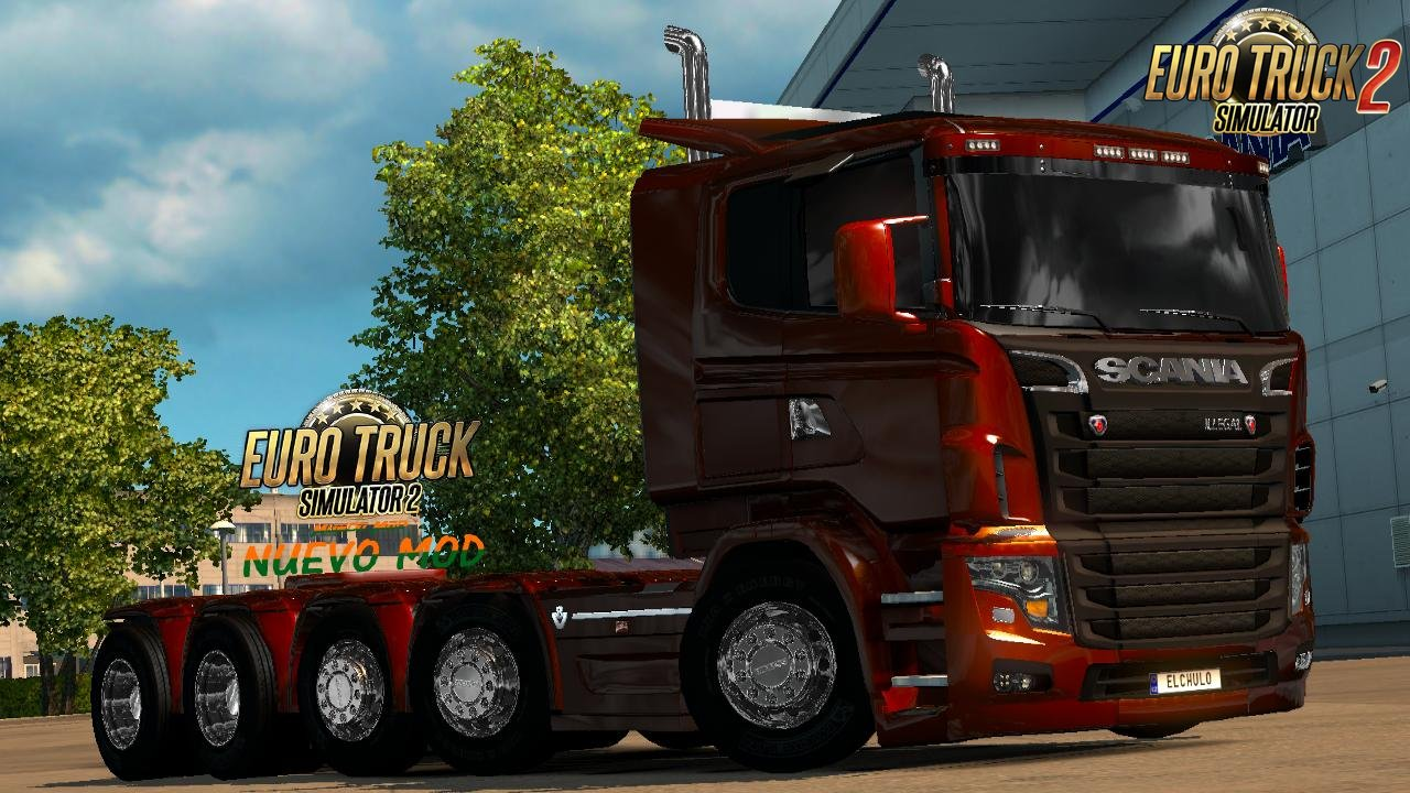 Scania illegal V8 Reworked v5.0 [1.26.x]