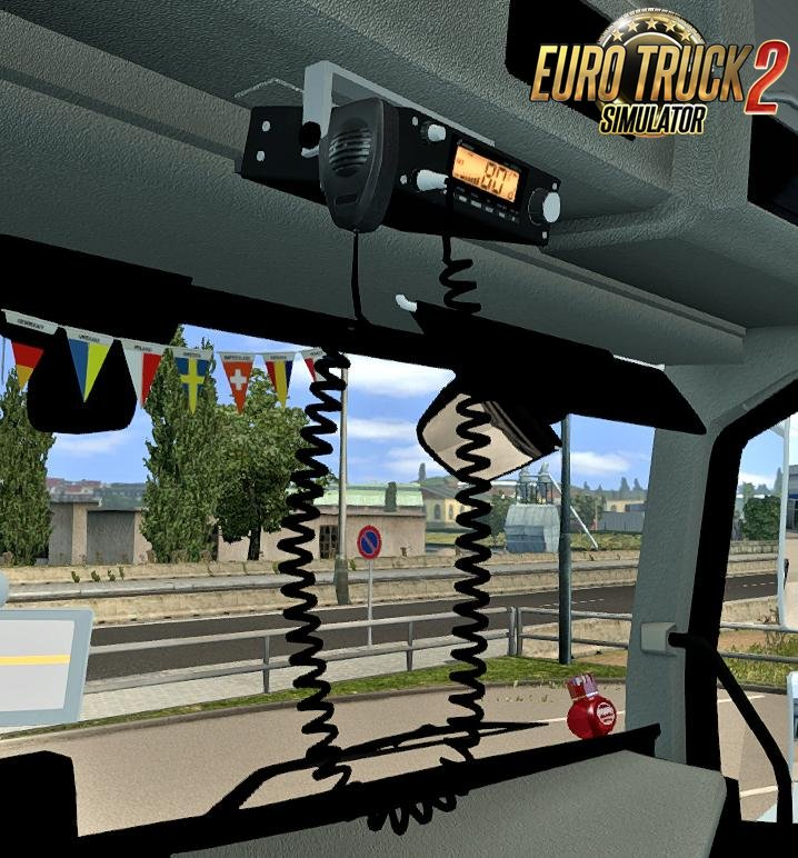 Stabo XM4060E CB Radio v1.1 for Ets2