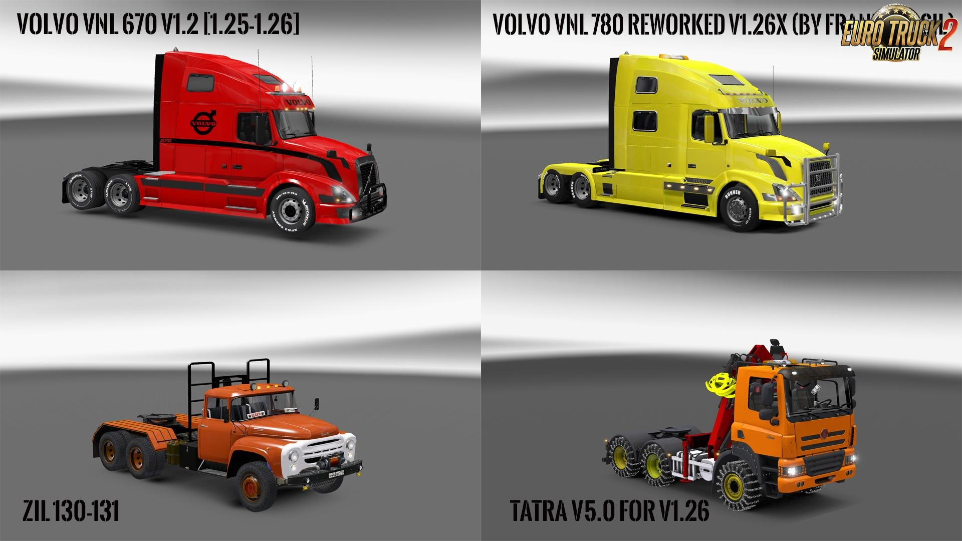 Pack 10.4 compt. Trucks with Powerful 10.3 [1.26.x]