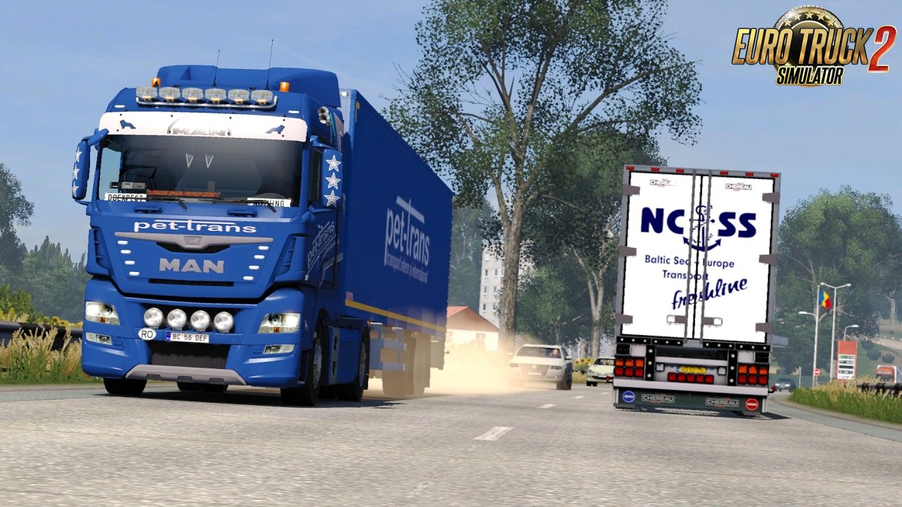 MAN TGX Euro6 v1.8: Balti - Bucuresti on ProMods 2.15 - Euro Truck Simulator 2