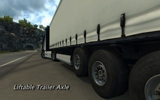 Liftable Trailer Axles